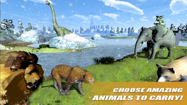 Wild Animals Transport Truck Simulator screenshot 9