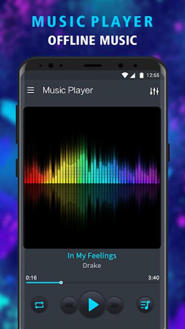 Music Player - Offline Music, MP3 Player screenshot 1