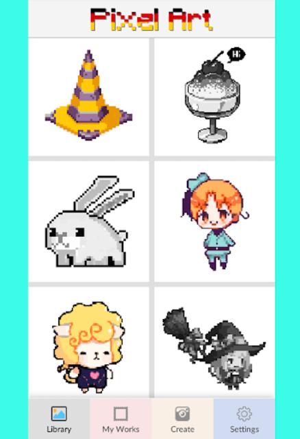 Pixel Color by Number - pixel Art screenshot 1