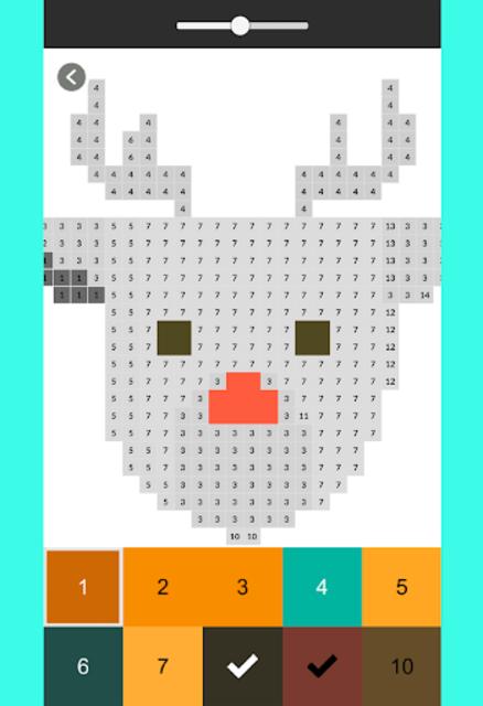 Pixel Color by Number - pixel Art screenshot 2