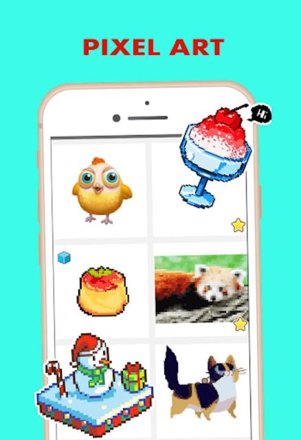 Pixel Color by Number - pixel Art screenshot 3