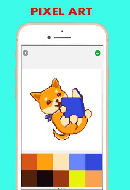 Pixel Color by Number - pixel Art screenshot 4