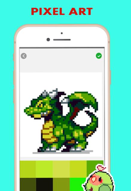Pixel Color by Number - pixel Art screenshot 5