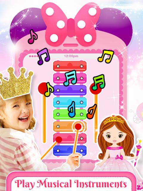 Little Princess Baby Phone Fun screenshot 1
