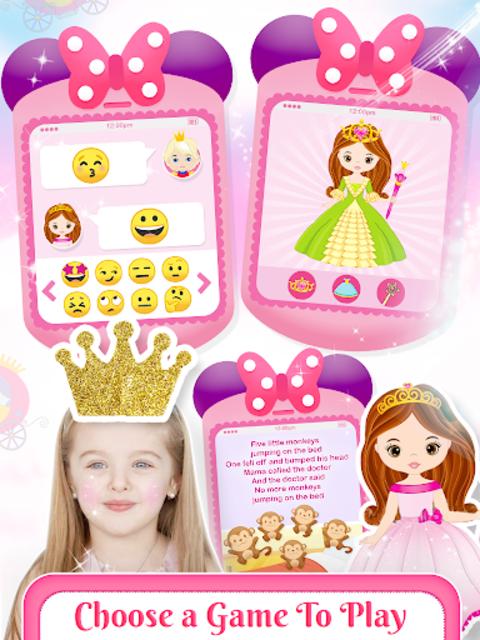 Little Princess Baby Phone Fun screenshot 5
