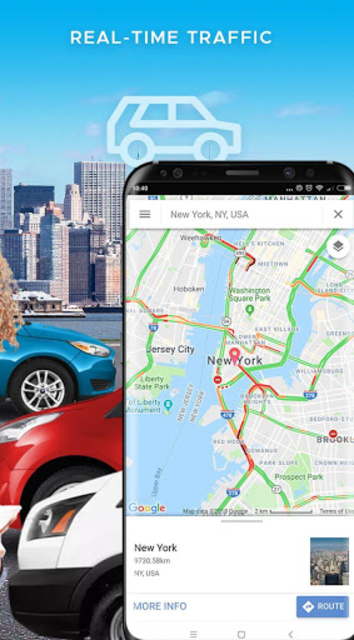 Maps & GPS Navigation: Find your route easily! screenshot 2