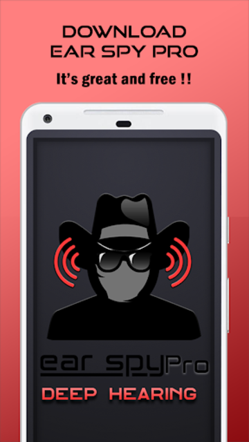 Ear Spy Pro : Deep Hearing screenshot 1