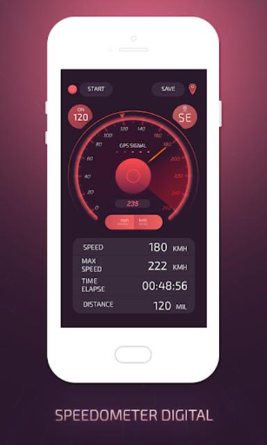GPS Speedometer screenshot 4
