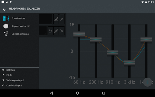 Headphones Equalizer - Music & Bass Enhancer screenshot 10
