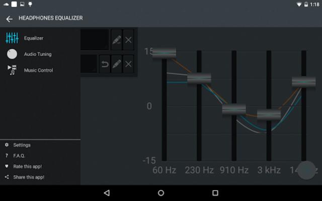 Headphones Equalizer - Music & Bass Enhancer screenshot 16