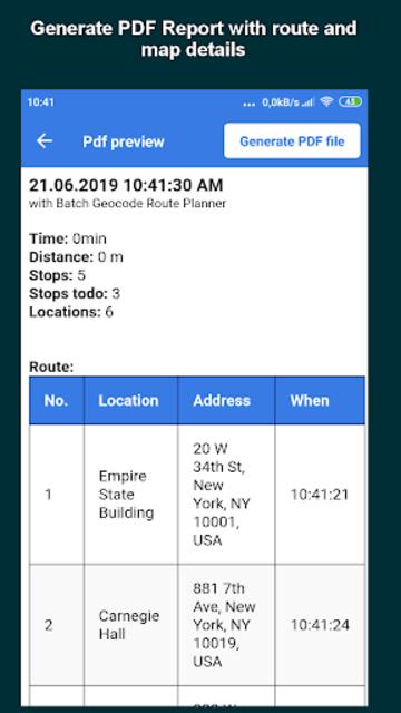 Multi Stop Route Planner screenshot 7