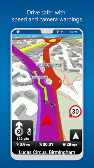 MapFactor GPS Navigation Maps screenshot 5