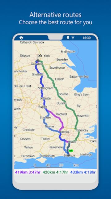 MapFactor GPS Navigation Maps screenshot 7