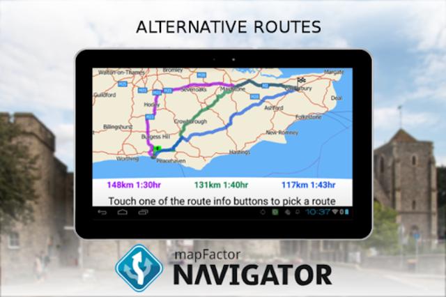 MapFactor GPS Navigation Maps screenshot 15