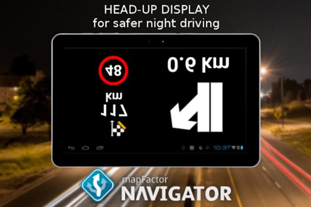 MapFactor GPS Navigation Maps screenshot 16