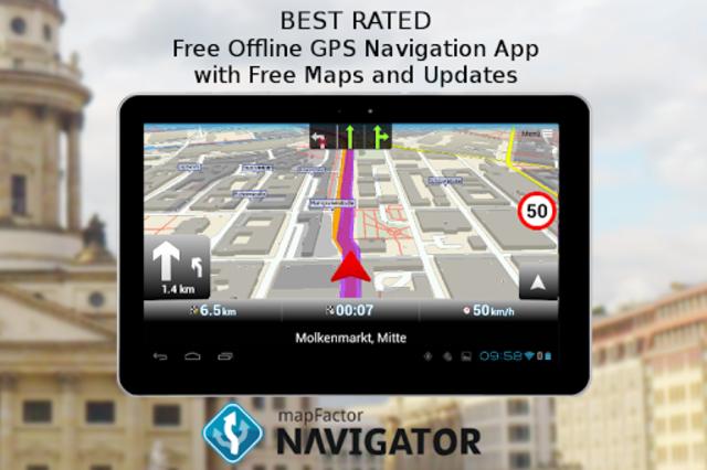 MapFactor GPS Navigation Maps screenshot 9