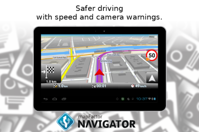 MapFactor GPS Navigation Maps screenshot 13