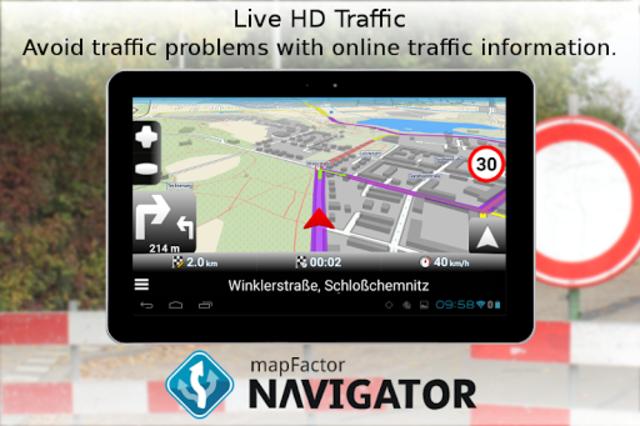 MapFactor GPS Navigation Maps screenshot 14