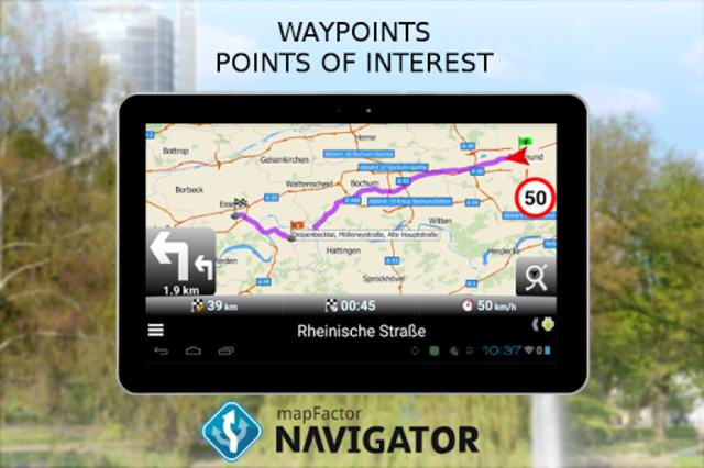 MapFactor GPS Navigation Maps screenshot 19