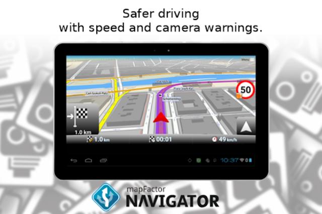 MapFactor GPS Navigation Maps screenshot 21