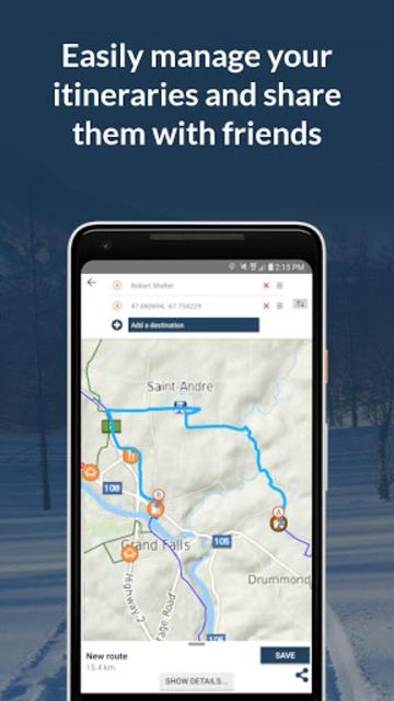 GoSnowmobiling NB 2018-2019! screenshot 5