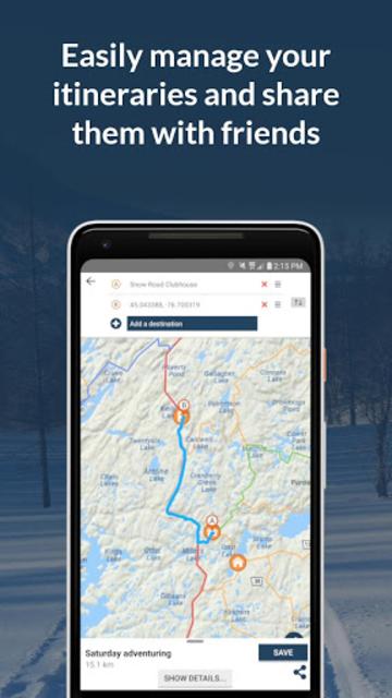 Go Snowmobiling Ontario 2018-2019! screenshot 5