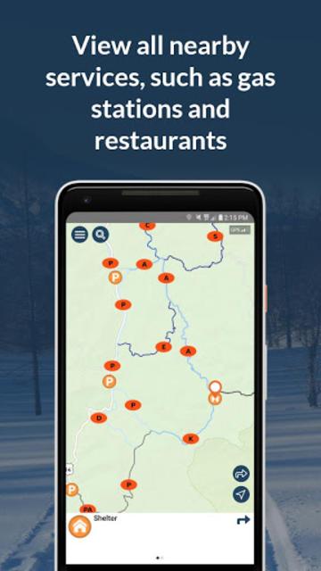 RideOn WYO Snowmobile Trails 2019 screenshot 3