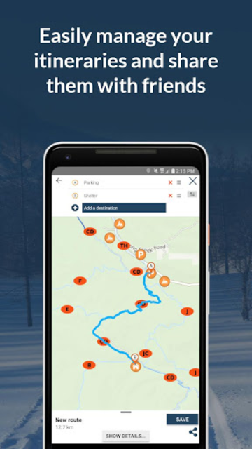 RideOn WYO Snowmobile Trails 2019 screenshot 4