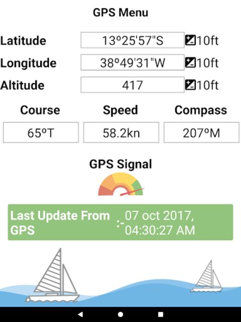 Eufaula Lake - Oklahoma Offline GPS Fishing Charts screenshot 17