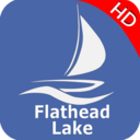 Icon for Flathead  Lake Offline GPS Nautical Charts