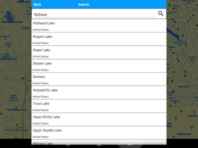 Flathead  Lake Offline GPS Nautical Charts screenshot 10