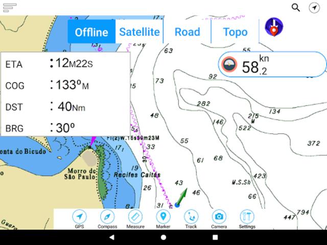 Champlain lake Offline GPS Nautical Charts screenshot 12