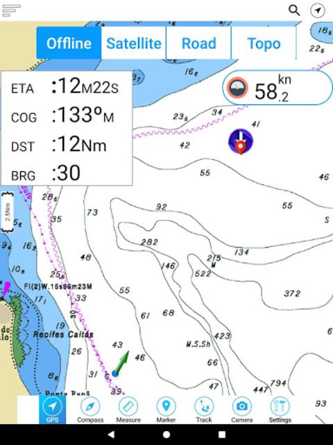 Champlain lake Offline GPS Nautical Charts screenshot 18