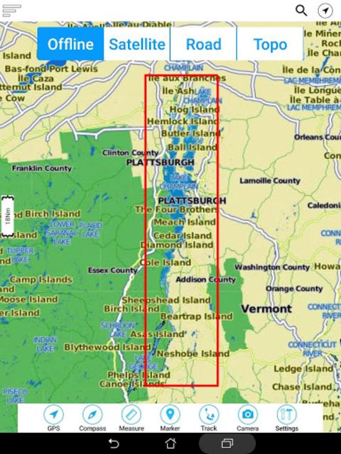 Champlain lake Offline GPS Nautical Charts screenshot 21