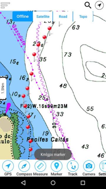 Champlain lake Offline GPS Nautical Charts screenshot 5