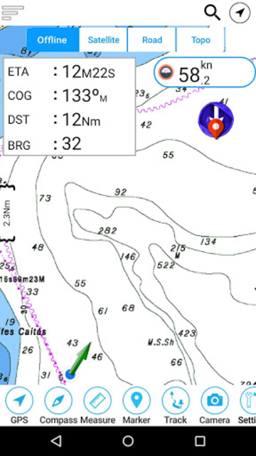 Champlain lake Offline GPS Nautical Charts screenshot 7