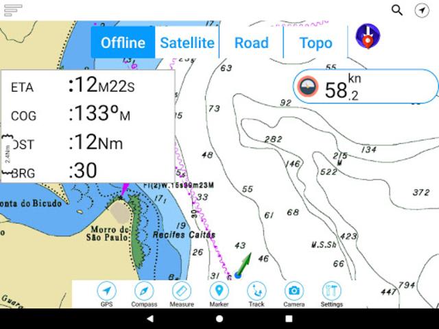 Champlain lake Offline GPS Nautical Charts screenshot 9