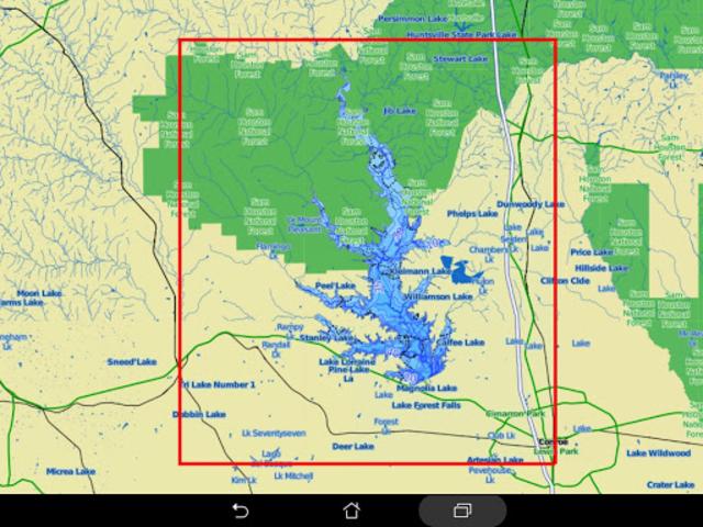 Lake Conroe Offline GPS Charts screenshot 14