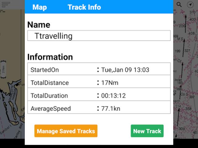 Lake Oahe - South & North Dakota Offline GPS Chart screenshot 8