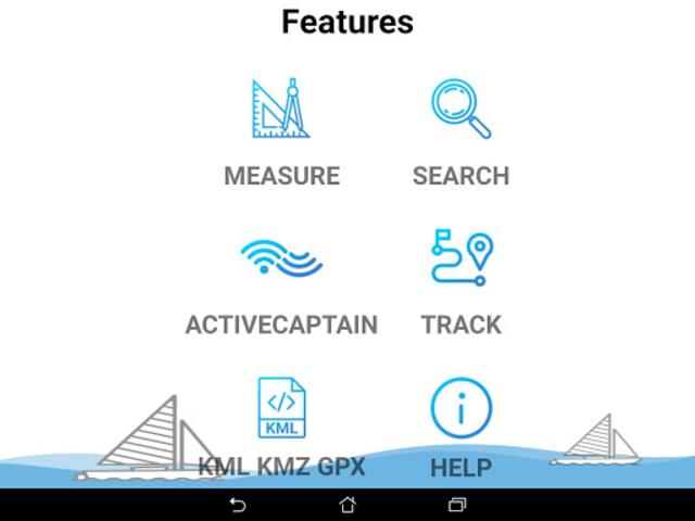 Lake Oahe - South & North Dakota Offline GPS Chart screenshot 11