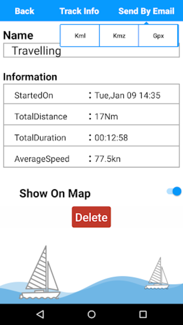 Lake Sidney Lanier GPS Charts screenshot 3