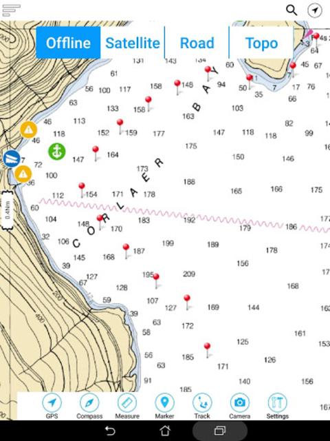 Lake Sidney Lanier GPS Charts screenshot 20
