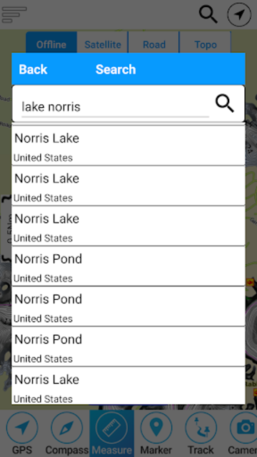 Norris Lake - Tennessee Offline GPS Fishing Charts screenshot 2