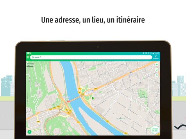 Mappy – Plan, Comparateur d'itinéraires, GPS screenshot 7