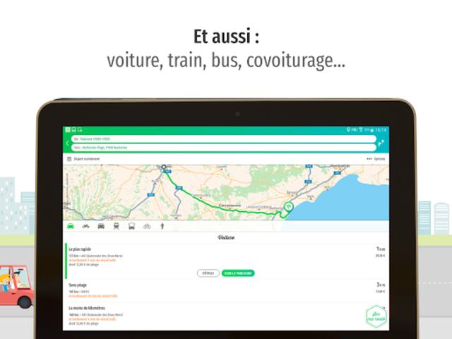 Mappy – Plan, Comparateur d'itinéraires, GPS screenshot 11