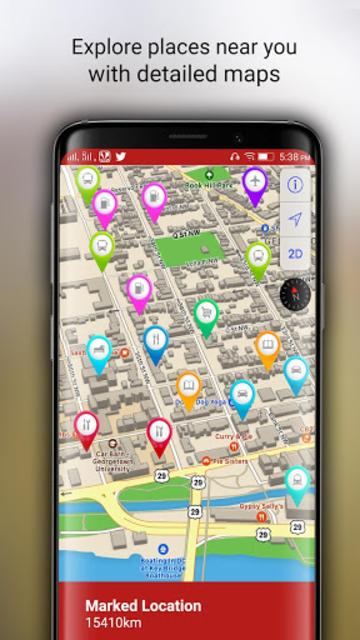 Free-GPS, Maps, Navigation, Directions and Traffic screenshot 4