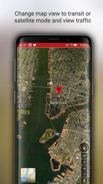 Free-GPS, Maps, Navigation, Directions and Traffic screenshot 6
