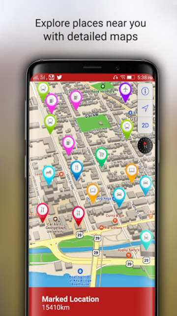 Free-GPS, Maps, Navigation, Directions and Traffic screenshot 12
