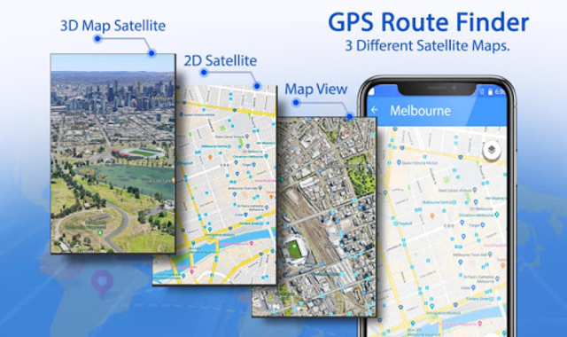 GPS Route Finder & Transit: Maps Navigation Live screenshot 3