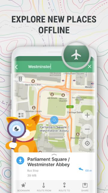 MAPS.ME – Offline maps, guides and navigation screenshot 8